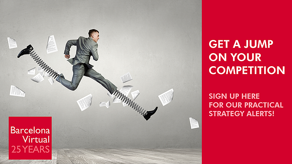 Count On A Competitive Advantage, each time you receive our BV Strategic Alerts.