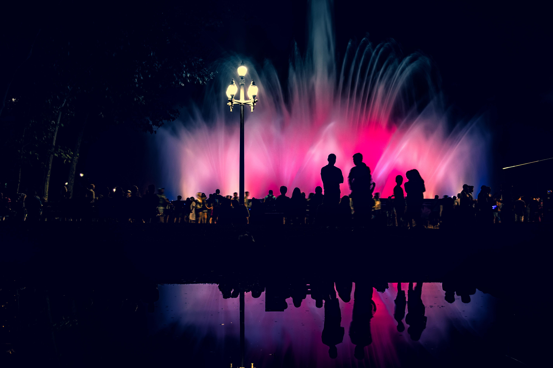 Barcelona's Magic Fountain, a major tourist draw near the popular Plaça de Espanya.